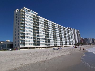 Photo for Oceanfront Condo @ Sands Beach Club on Shore Dr