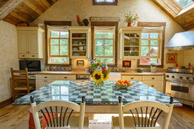 Sun Drenched Kitchen