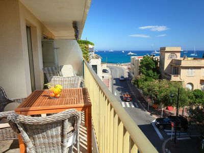 Photo for Apartment in the center of Antibes with Lift, Internet, Washing machine, Terrace (652175)