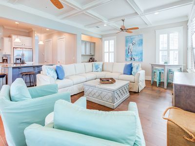 Photo for ☼The Salty Shamrock☼ 30A-NEW 4BR Highland Park☼OPEN Apr 27 to 30 $1517! GolfCart