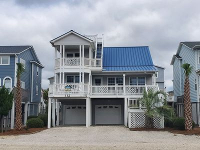 Photo for 2nd Row - Amazing Ocean Views - 5 Bed/5 Bath with Pelican's Nest and Elevator