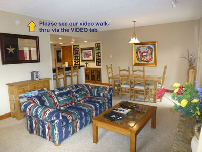 """Photo for The """"Lone Star"""" Condo Ski-in/Ski-out 2 BDR 2 BATH Sleeps 8 Near Lifts & Main Stre"""
