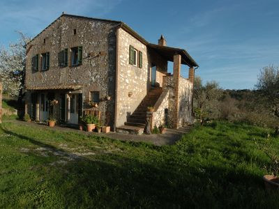 Photo for Villa / country house with panoramic views 80 km from Rome