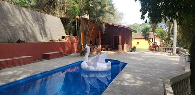 Photo for Finca in gated community with pool and access to the dam