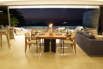 Dining Table at Night