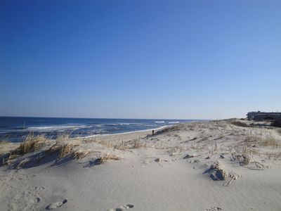 Photo for Special Rate July 13-20 Beachfront Condo with Ocean Views S Seaside Park