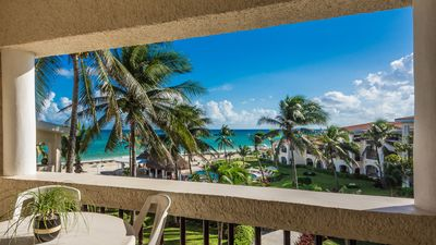 Photo for Ocean Front Condominium, Playacar Phase 1