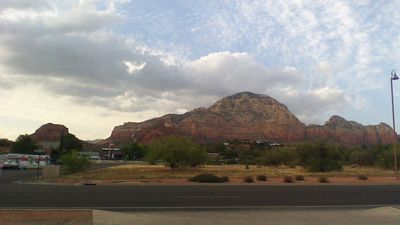 Thunder Mountain from living room window
