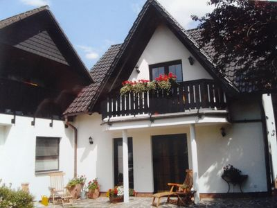 Photo for Quiet town near comfortable apartment with a balcony in Goslar / Upstairs