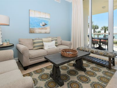 Photo for Upscale coastal style in four-bedroom beachfront getaway!