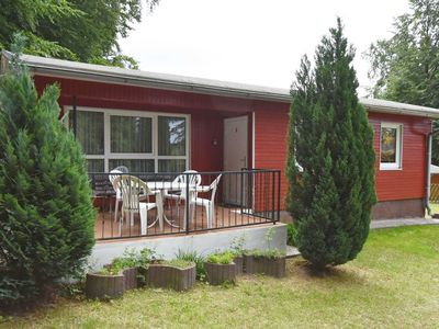 Photo for Ferienbungalow A - holiday bungalows on the edge of the beech forest in the Baltic Sea resort of Sellin