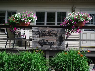 Photo for Cozy Cottage near Schwarz Supper Club, Road America, and Whistling Straights!!
