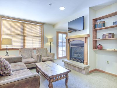 Photo for Ski In / Ski Out OVERSIZED 1 Bedroom at Zephyr Mountain Lodge - Sleeps 4!!