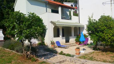 Photo for House With Private Garden With Grill And Sea Views, Near the Beach