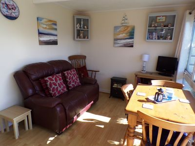 Photo for Cosy Cabin in Heacham, near Hunstanton, 400 yards from beach