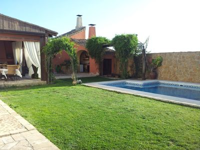 Photo for House Cortijo de best qualities, pool, 2 fireplaces, large barbecue, etc.