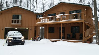 Photo for Spacious and Cozy Ski and Golf Chalet located at Schuss Mtn