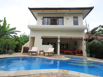 Photo for Villa Beranda Kecil, private garden, swimming pool and housekeeper in North Bali