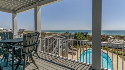 Photo for `After Dune Delight` Inlet Beach Rental GULF FRONT + Private Pool + FREE BIKE