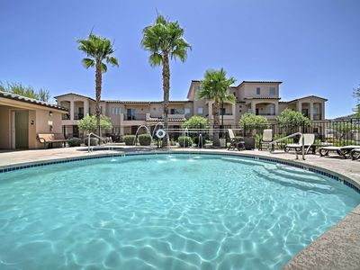 Photo for Resort Townhome w/Pool, & Spa-19 Mi to Sloan Park!