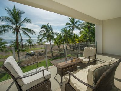 Photo for Ultra modern, roomy 2 bed, x- large oceanfront balcony & direct beach access!