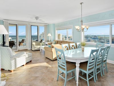 Photo for Best Views in OCMD! Luxury Condo w/ Pool & Gym - Near Fager's Island!