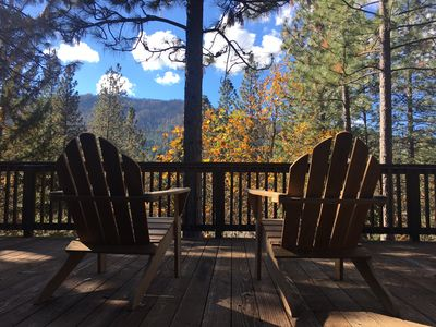 Photo for Starview Lodge: Quiet Mountain Home Bordering State Forest