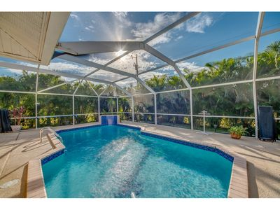 Photo for Family Friendly Pool Home for you and the Fur Baby- Villa Hideaway -  Cape Coral