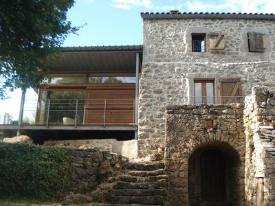 Photo for Traditional house CAUSSENARDE 70 M2 - Between Causses and Cévennes