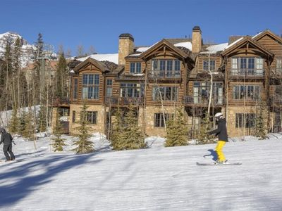 Photo for 5 Star Luxury Living at the Chalet at Castellina. Ski In Ski Out with Private Hot Tub.
