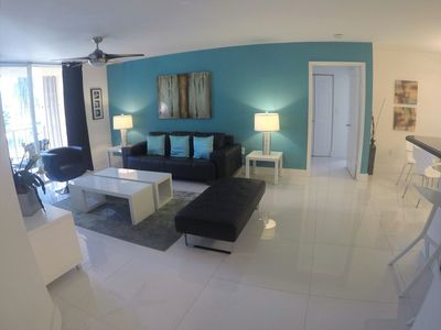 Photo for The Yacht Club at Aventura, Lovely 3 Bed 2 Bath unit for a great stay, Wi fi