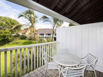 Photo for Charming Suite w/Modern Kitchen, WiFi, Flat Screen, Lanai–Kiahuna Plantation #2048