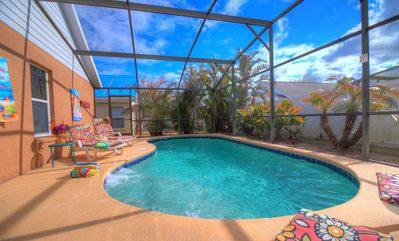 RELAX !!! South Facing for Maximum Sun - Deck & Pool -  Large and very Private