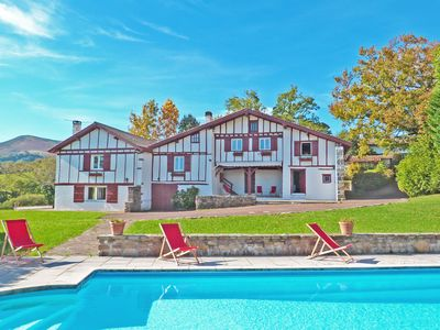 Photo for URRUGNE, BASQUE HOUSE WITH SWIMMING POOL - BL261 - BARNES