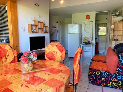Photo for T2 CHARMING WITH SWIMMING POOL AND PARKING NEAR AQUALAND AND 250M FROM THE SEA - CAP D'AGDE -...