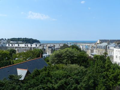 Photo for Saint-Servan apartment with views of Saint-Malo bay