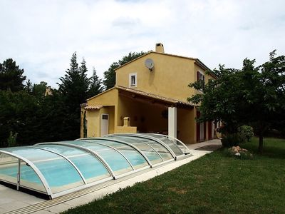 Photo for House 193 m from the center of Roussillon with Internet, Pool, Parking, Terrace (103093)