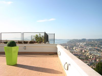 Photo for Home Santè, apartment with terrace in Posillipo