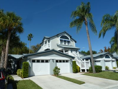 Photo for Ideal staycation with 'heated pools' and steps to its 'private Siesta Key beach'