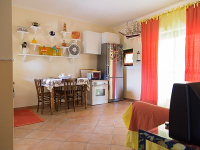Photo for Ground floor apartment located within the Resort Villa Degli Argonauti