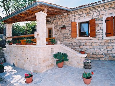 Photo for Beautiful stone house in Istrian style, surrounded by nature for 6 persons