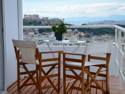 Photo for Breathtaking Acropolis view apartment in Kolonaki