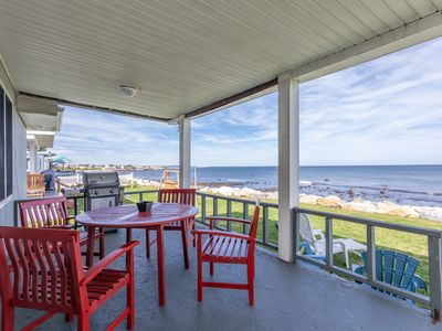 Photo for Ocean Front, Views of Point Judith Lighthouse, A/C