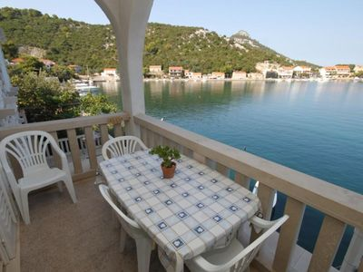 Photo for One bedroom apartment near beach Zaklopatica, Lastovo (A-8346-b)