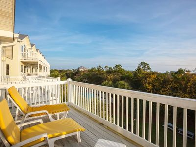 Photo for 15% OFF SEPTEMBER!  GULF VIEW, Steps to Pool, Hot Tub, & Public Beach Access.