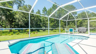 Your own private pool, professionally maintained and heated to 89 degrees!