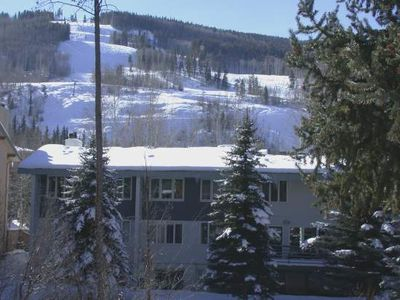 Photo for Vail Village Condominium - Walk to Lifts, on Gore Creek, Great Value! Vail Trails East