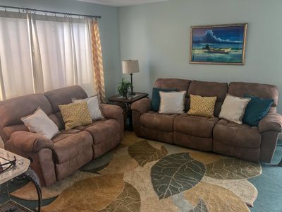 Photo for Pet Friendly (2 Max)*2 units in 1*Sleeps 8*Golden Mile Location* 400' from Ocean