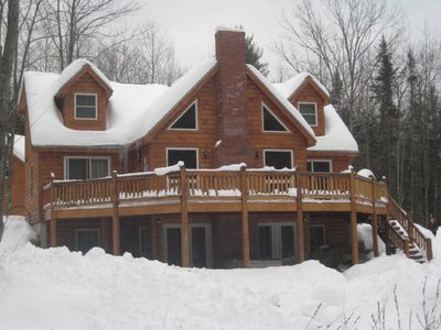 The River Ridge Lodge in the Winter