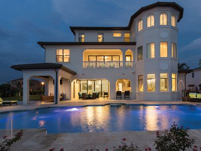 Photo for 11,700 sq. ft. Luxury Villa with Custom Pool, Theater Room, Games &  Sports Hall